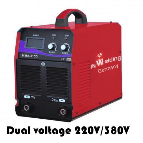 Aparat sudura invertor MMA-315D dual voltage 220V/380V InWelding