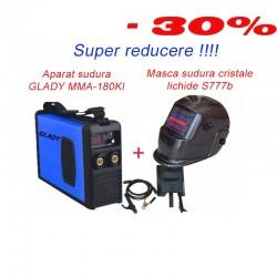 Super Promo GLADY MMA-250KI + Masca Sudura cu cristale lichide S777B